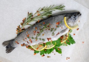 Fresh Trout With Lemon And Spices_by Apolonia