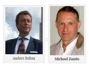 Anders Sultan och Michael Zazzio