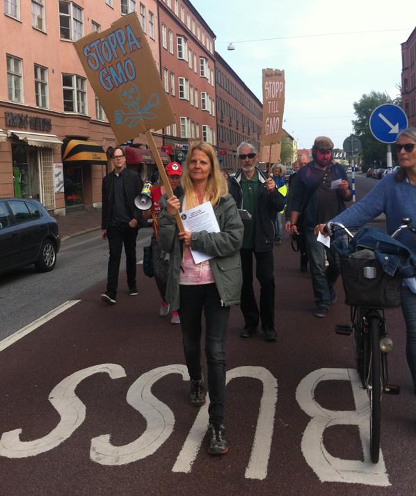 Slagord mot girighet skallade i stockholm